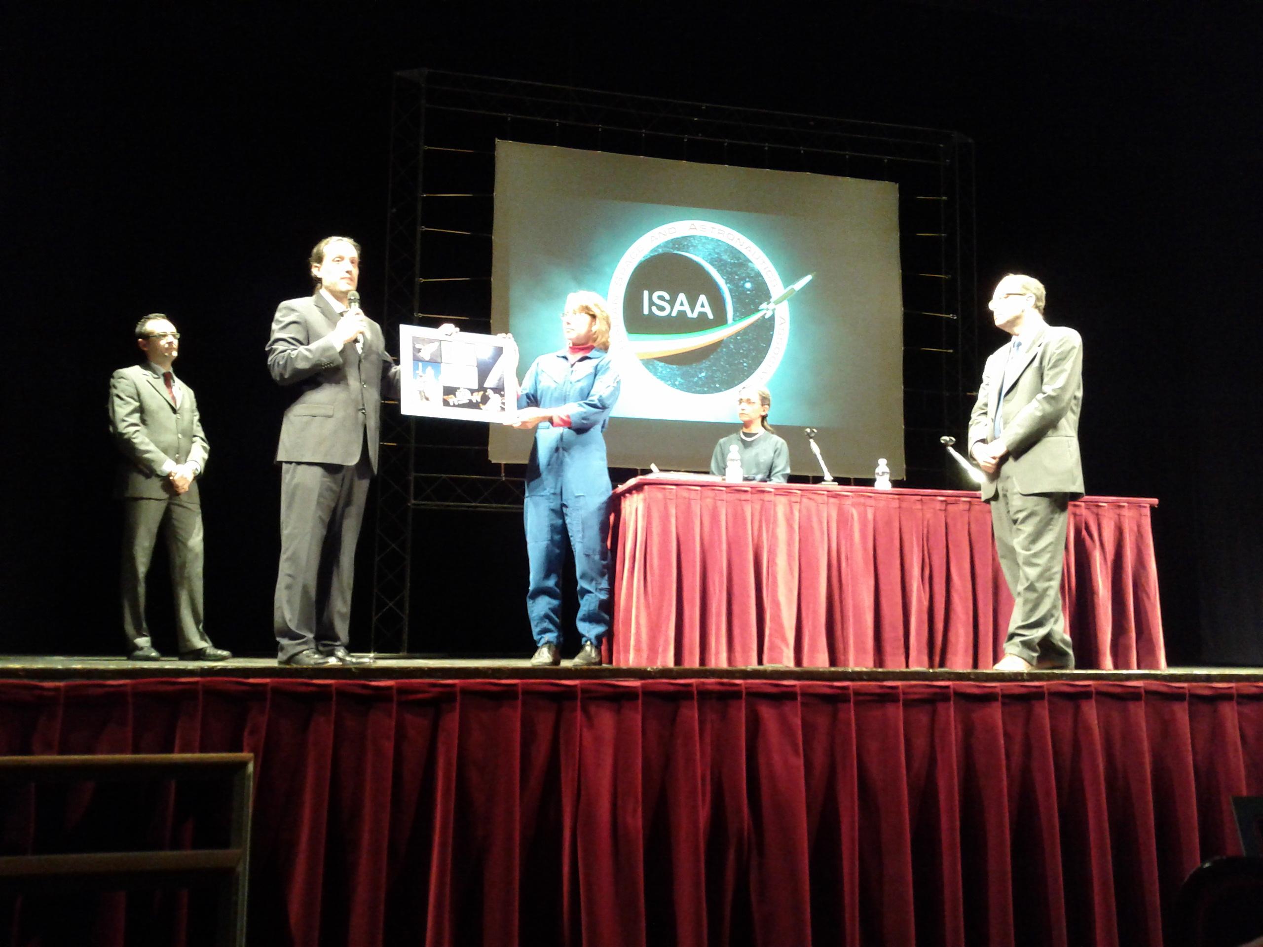 L'incontro pubblico con l'astronauta NASA Sandra Magnus