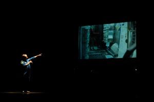 Mike Fincke al Teatro della Società, Lecco