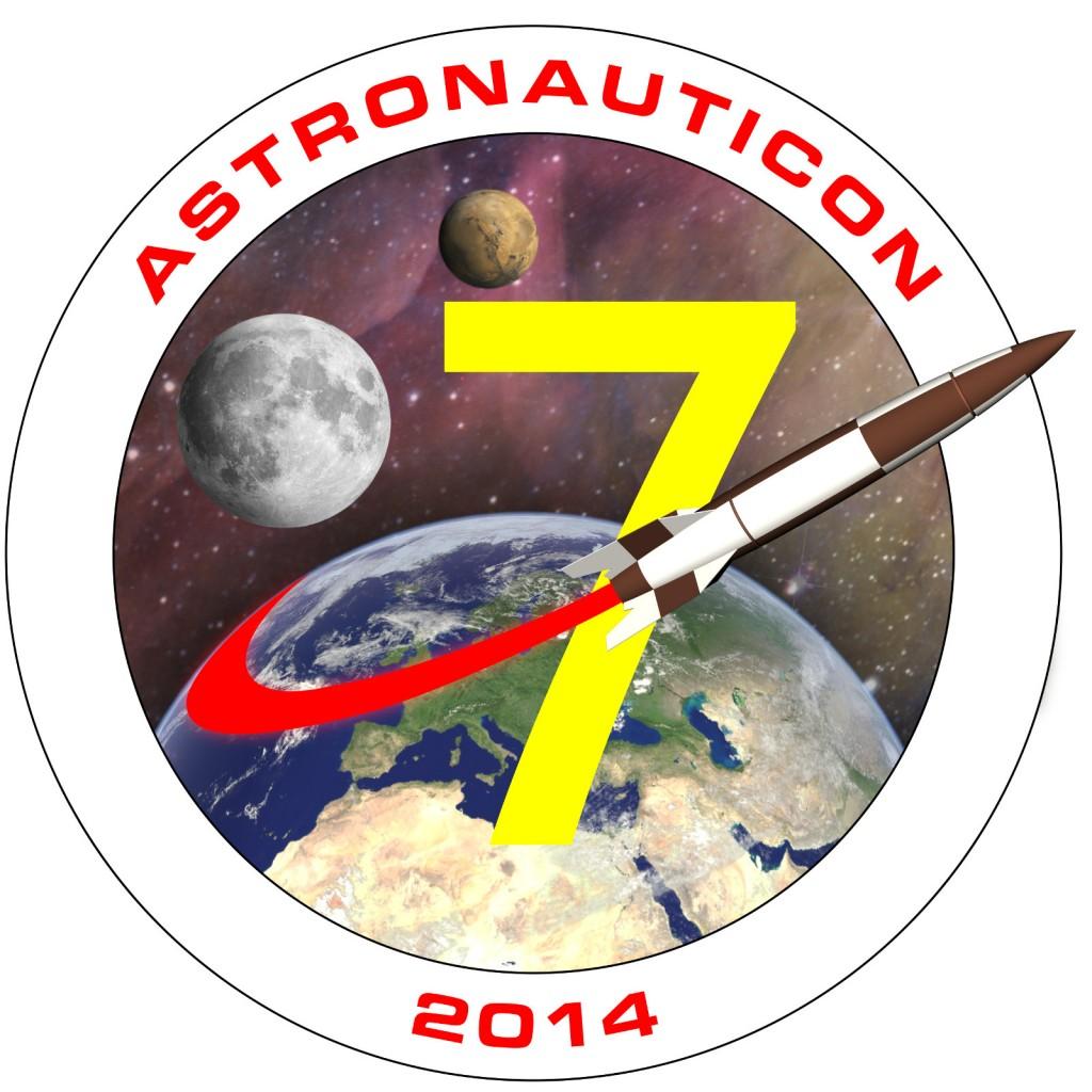 Logo di AstronautiCON 7. Credit: Riccardo Rossi