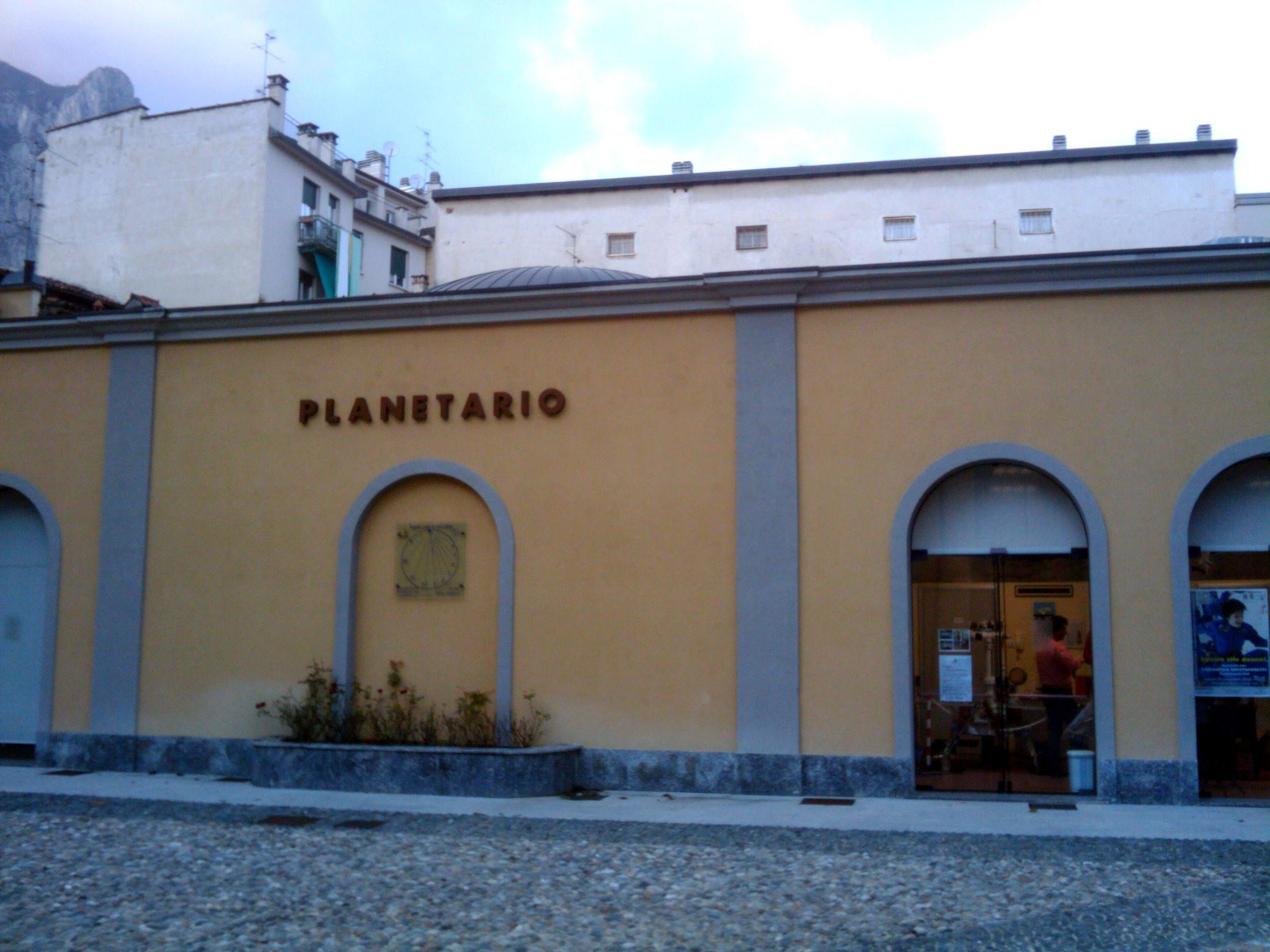 Il Planetario di Lecco. Credit: Paolo Amoroso